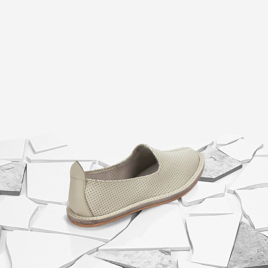 Tile Perforated Classic Moccasin