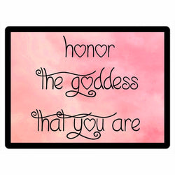 Honor The Goddess That You Are Magnets - Pink