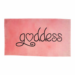 Goddess Dishtowels- Pink