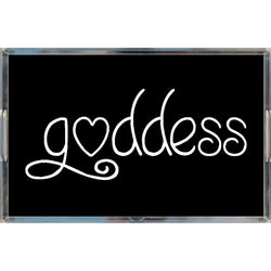 Goddess Acrylic Trays - Black