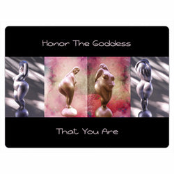 Honor The Goddess That You Are Four Goddesses Magnets