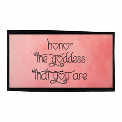 Honor The Goddess That You Are Dishtowels - Pink
