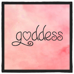 Goddess Bandana - Pink and Black