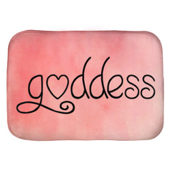 Goddess Bath Mat - Pink