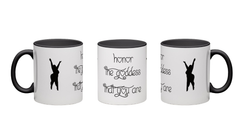 Honor The Goddess That You Are Silhouettes Mug