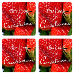 This Cook Is Curvalicious Magnets - Set Of Four