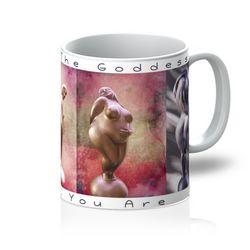 Honor The Goddess That You Are Four Goddesses 11 ounce Mug - White