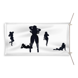 Silhouettes Beach Towel