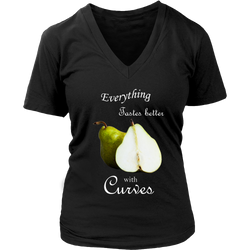 Everything Tastes Better With Curves Nightshirt