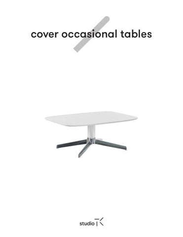 COVER OCCASIONAL TABLES SELL SHEET (FR)