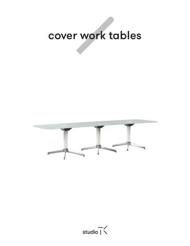 COVER WORK TABLES SELL SHEET