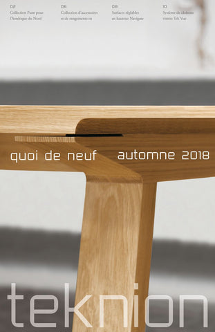 TEKNION WHAT'S NEW FALL 2018  (FR)