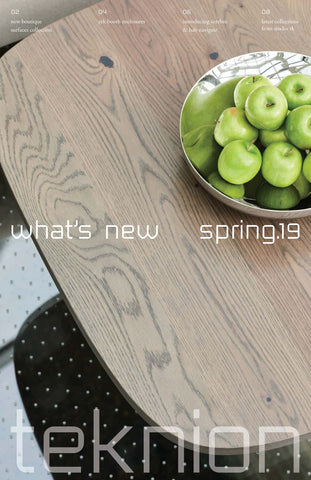TEKNION WHAT'S NEW SPRING 2019 (EN)