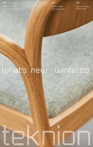 TEKNION WHAT'S NEW WINTER 2020 (EN)