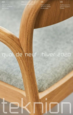 TEKNION WHAT'S NEW WINTER 2020 (FR)