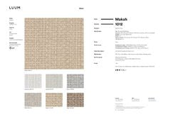 MAKAH SAMPLE CARD