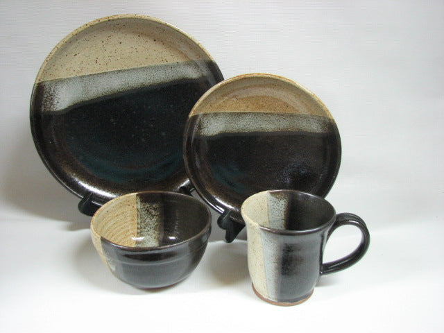 Black & Ivory glaze now available!