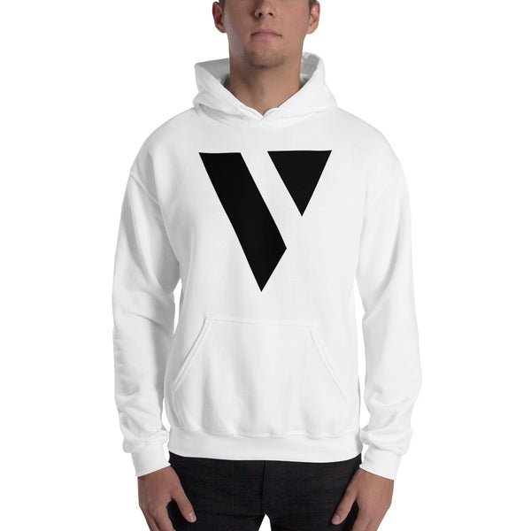 Hooded Sweatshirt (Black Logo)