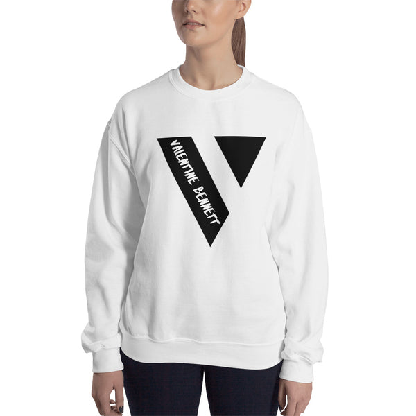 Crew Neck Sweatshirt (Black Logo)