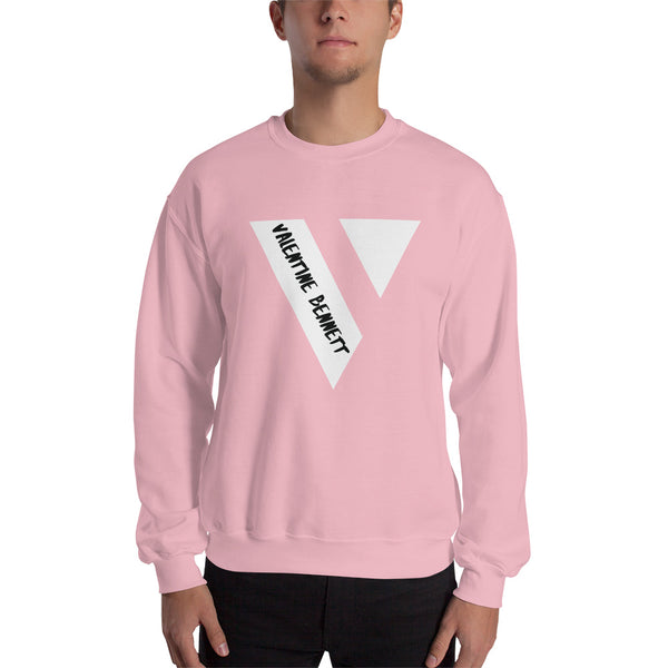 Crew Neck Sweatshirt (White Logo)