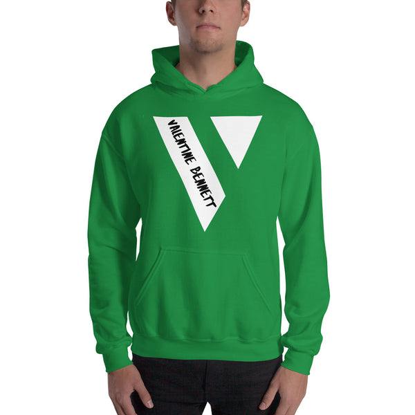 Hooded Sweatshirt (White Logo)