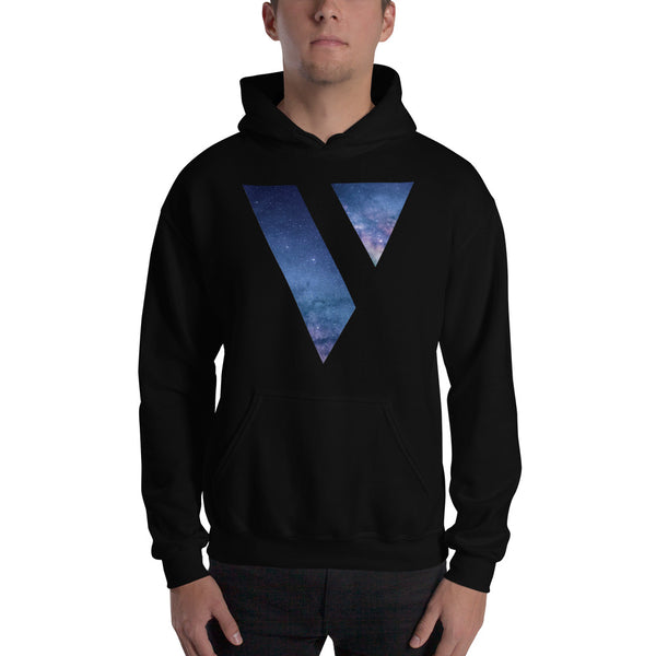 Hooded Sweatshirt (Galaxy Logo)