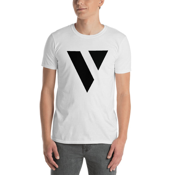 "Men's Black ""V"" Logo"