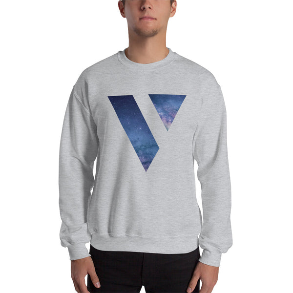 Crew Neck Sweatshirt (Galaxy Logo)