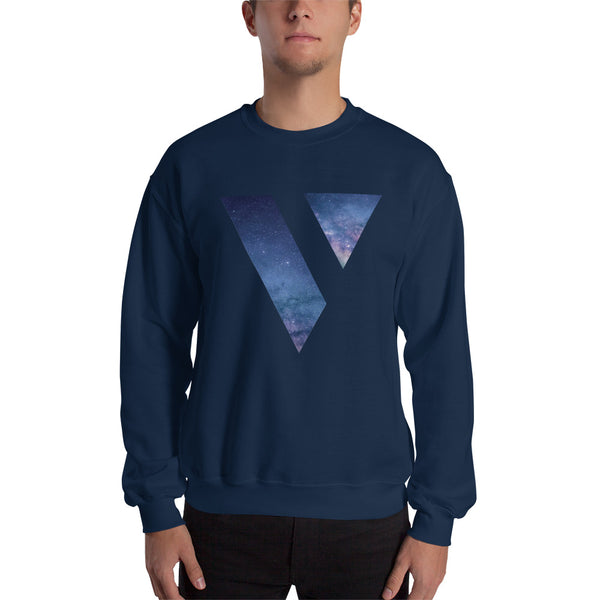 "Galaxy ""V"" Crew Neck Sweatshirt"