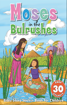 Moses in the Bulrushes - Bible Sticker Book