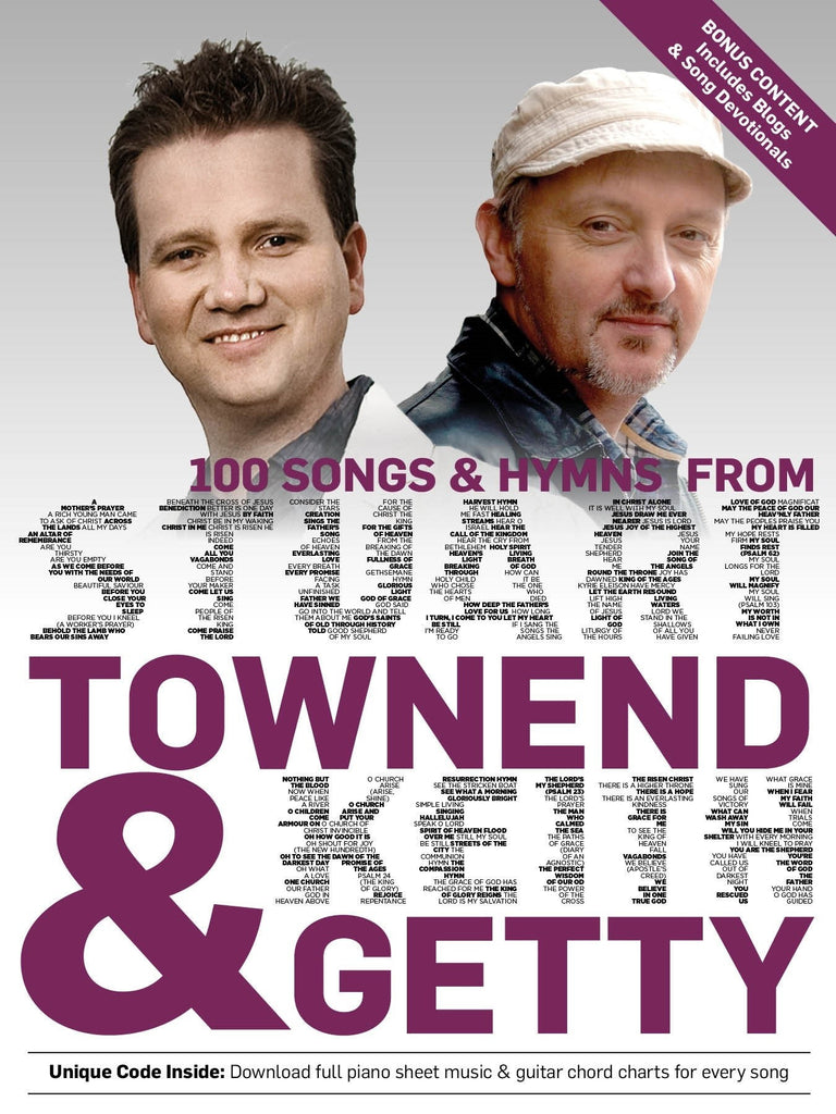 100 Songs & Hymns From Townend & Getty