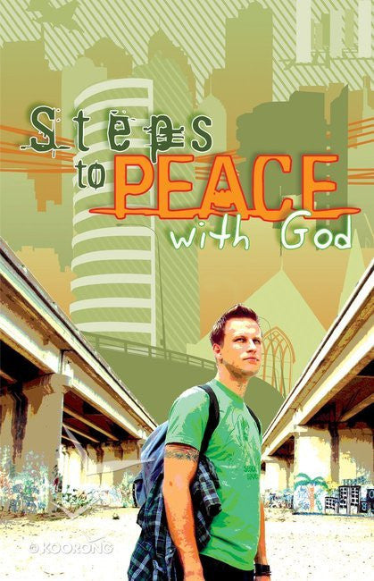 Steps to Peace with God.Tract (25 Pack)
