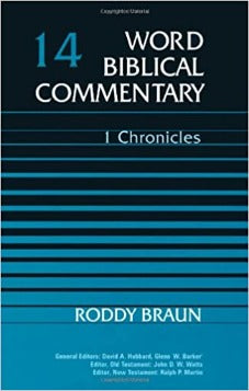 1 Chronicles (Word Biblical Commentary)