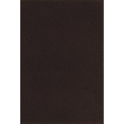 NKJV Giant Print Reference Bible Brown