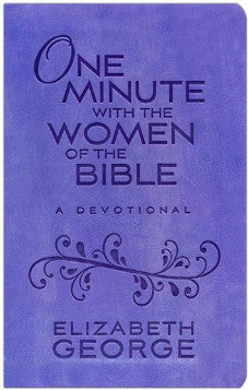 One Minute with the Women of the Bible Devotional - Lavender