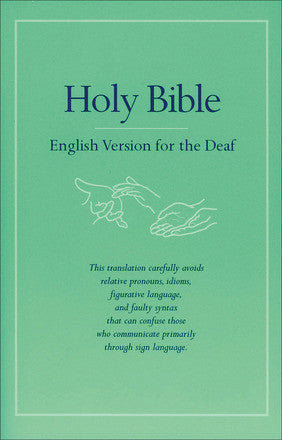 Holy Bible: English Version for the Deaf
