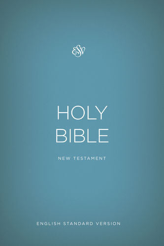 ESV Outreach New Testament - Blue
