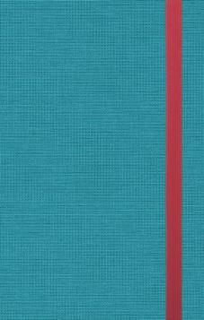 ESV Thinline Bible  Cloth over Board, Turquoise
