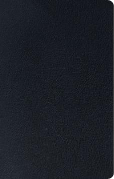 ESV Thinline Reference Bible Genuine Black Leather
