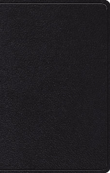 ESV Devotional Psalter  Top Grain Leather, Black