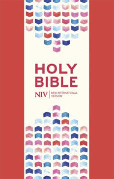 NIV Thinline Coral Pink Soft-tone Bible with Zip