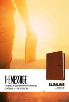 The Message Slimline Saddle Tan