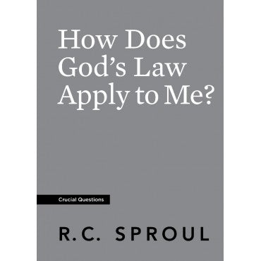 How Does God's Law Apply To Me (eBook)