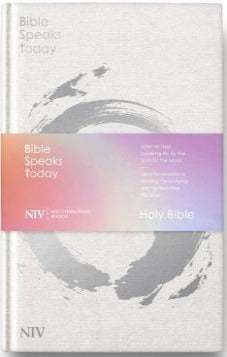 NIV Bible Speaks Today Bible - Black Bonded Leather