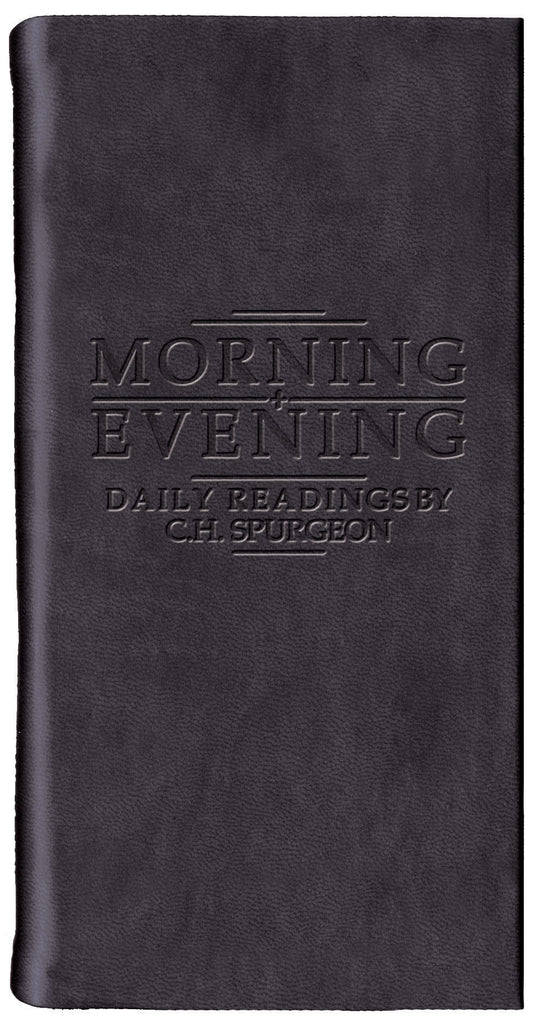 Matt Black Morning & Evening: Daily Readings by C. H. Spurgeon