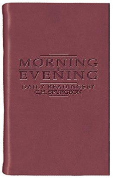Burgundy Morning & Evening: Daily Readings by C. H. Spurgeon