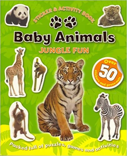 Baby Animals - Jungle (Sticker and Activity Book)