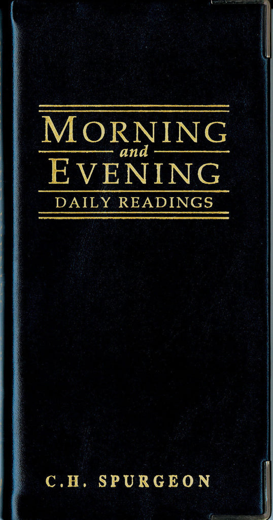 Gloss Black Morning & Evening: Daily Readings by C. H. Spurgeon