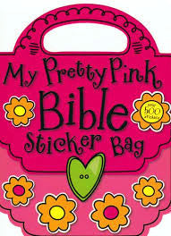 My Pretty Pink Bible Sticker Bag