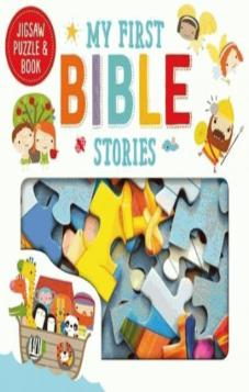 My First Bible Stories: Jigsaw Puzzle & Book